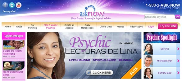 Asknow Psychic network