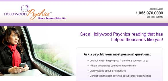 Hollywood Psychics network